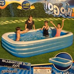 Bestway H2O Go! 10ft x 6ft x 22in Rectangular Inflatable Poo