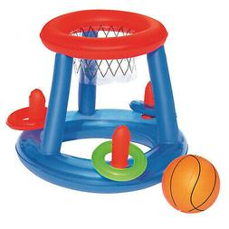 H2O GO! Inflatable Basketball Ring Toss Pool Sport Play Toy