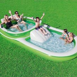 """Bestway H2OGO! Family Pool With Slide  147""""  x  74""""  x 27"""""""