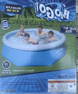 Bestway H2OGO Fast Set Pool, 8 Feet Wide, 26 in Deep No Pump