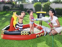 H2OGO! Inflatable Pirate Play Pool Center Swimming Float Kid