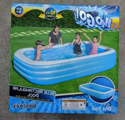 H2OGO Large Inflatable Swimming Pool Family Kids Fun 10ft x