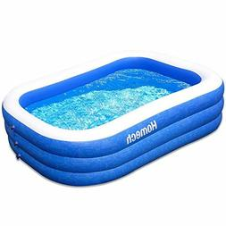 "Homech Family Inflatable Swimming Pool 120"" X 72"" X 22"" Full"