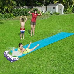 Hot 4.8 m Single Water Slide PVC Inflatable Fun Outdoor Lawn