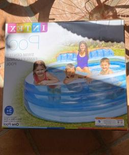 IN HAND FREE SHIP Intex Swim Center Family Lounge Pool, 90""