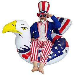 Independence Day 4th of July Inflatable American Bald Eagle