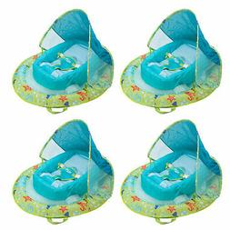 SwimWays Infant Spring Inflatable Swimming Pool Float with C