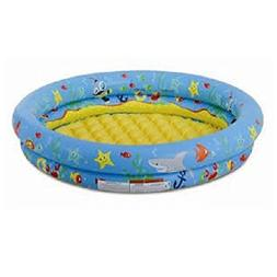 Inflatable 2 Ring Float Swimming Pool Safety Above Ground Fo