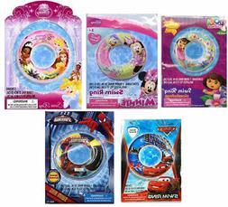 "Disney Inflatable 20"" Swim Ring Tube Float Toy Pool Float Ki"
