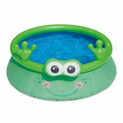 Summer Waves Inflatable 6 Foot Frog Character Quick Set Swim