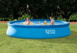 """Inflatable Above Ground Swimming Family Pool Intex 15'x33"""" w"""