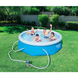 Inflatable Above Ground Swimming Pool Fast Set with Filter P