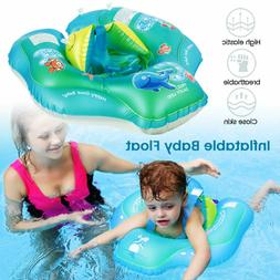 Inflatable Baby Kids Float Swimming Ring Safety Swim Trainer