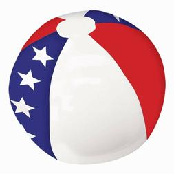 """Inflatable Beach Ball Pool Toy Amscan 20"""" Diameter New Seale"""