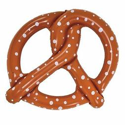 Pool Central Inflatable Brown and White Giant Pretzel Pool R