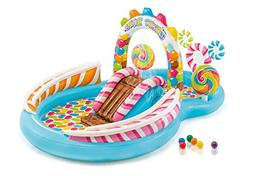 inflatable candy zone water play