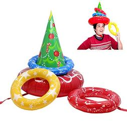 Inflatable Christmas Tree Toss Game for Christmas Parties Ga