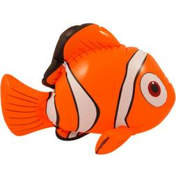 Inflatable Nemo Orange Clown Fish Blow Up Ocean Toy Play Poo