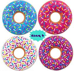 INFLATABLE DONUTS - 36 inch - Pool party floats and donut pa