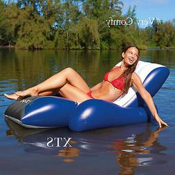 Inflatable Pool Float Swimming Lounge Raft Adult Toys Chair
