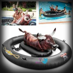 Inflatable Float Toy Fun Bull Riding Swimming Games Pool Wat