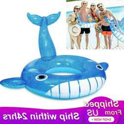 Inflatable Floats Swimming Swim Ring Pool Adult Water Sports