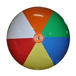 Jet Creations Inflatable Giant Beach Ball, 6'