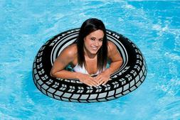 "Intex Inflatable 36"" Giant Tire Tubes For Swimming Pool/Lake"