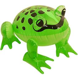 Rimi Hanger Inflatable Green Frog 39CM Blow Up Toy Stag Do B