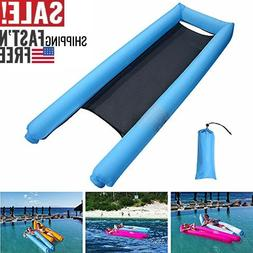 inflatable hammock portable water lounger chair pool
