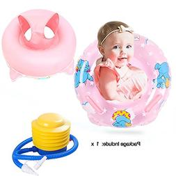 Inflatable Baby Pool Float For Kids Learn To Swim, Safety Sw