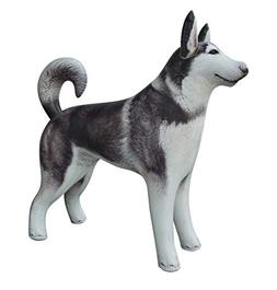"Jet Creations Inflatable Husky Dog Alaskan Pet Animal 32"" Lo"