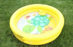 inflatable infant pool yellow or purple lovely
