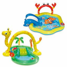 Summer Waves Inflatable Jungle Animal and Under the Sea Kidd