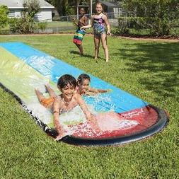 Inflatable Lawn Water Slide Racer Pool Kids Summer Park Play