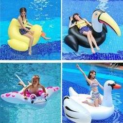 Inflatable Leisure Giant Floating Row Toy Rideable Raft Swim