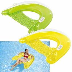 Intex Inflatable Lounge Lounger Float Chair Pool for Adults