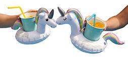 BigMouth Inc. Inflatable Magical Unicorn Floating Drink Hold
