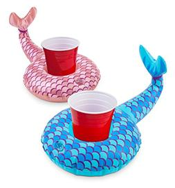 BigMouth Inc. Inflatable Mermaid Drink Float, 2-Pack Include