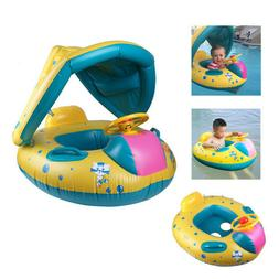 inflatable mother and baby swim ring float