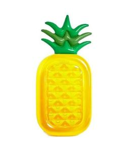 Inflatable Pineapple Pool Float Raft  Large Outdoor Swimming