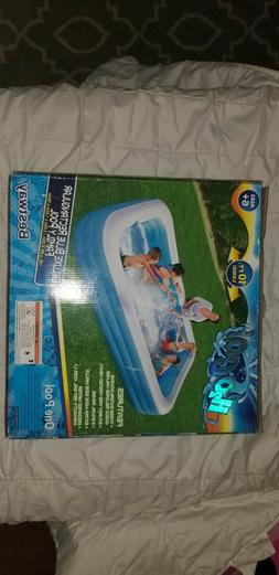 Inflatable Pool 10ft long Blue H2O Go Bestway brand new