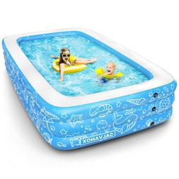Inflatable Pool Above Ground Swimming Pool for Kiddie/Kids 2