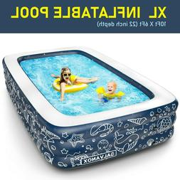 EXTRA LARGE Inflatable Pool Above Ground Swimming Pool for K