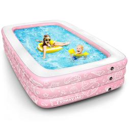 inflatable pool above ground swimming pool