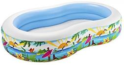 Intex Inflatable Pool, Ages3+ Vinyl 2Air-Chamber Valve, 151G