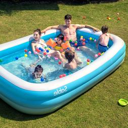 inflatable pool blow up family full sized