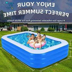 Inflatable Pool Blow Up Swimming Pool for Family Party Water