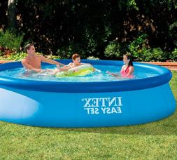 Inflatable Pool Intex Easy Set Pool 396cm Summer Family Swim