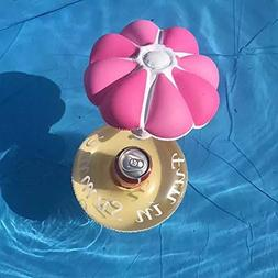 Zehui Inflatable Pool Float Drink Holder Lovely Mushroom Sha